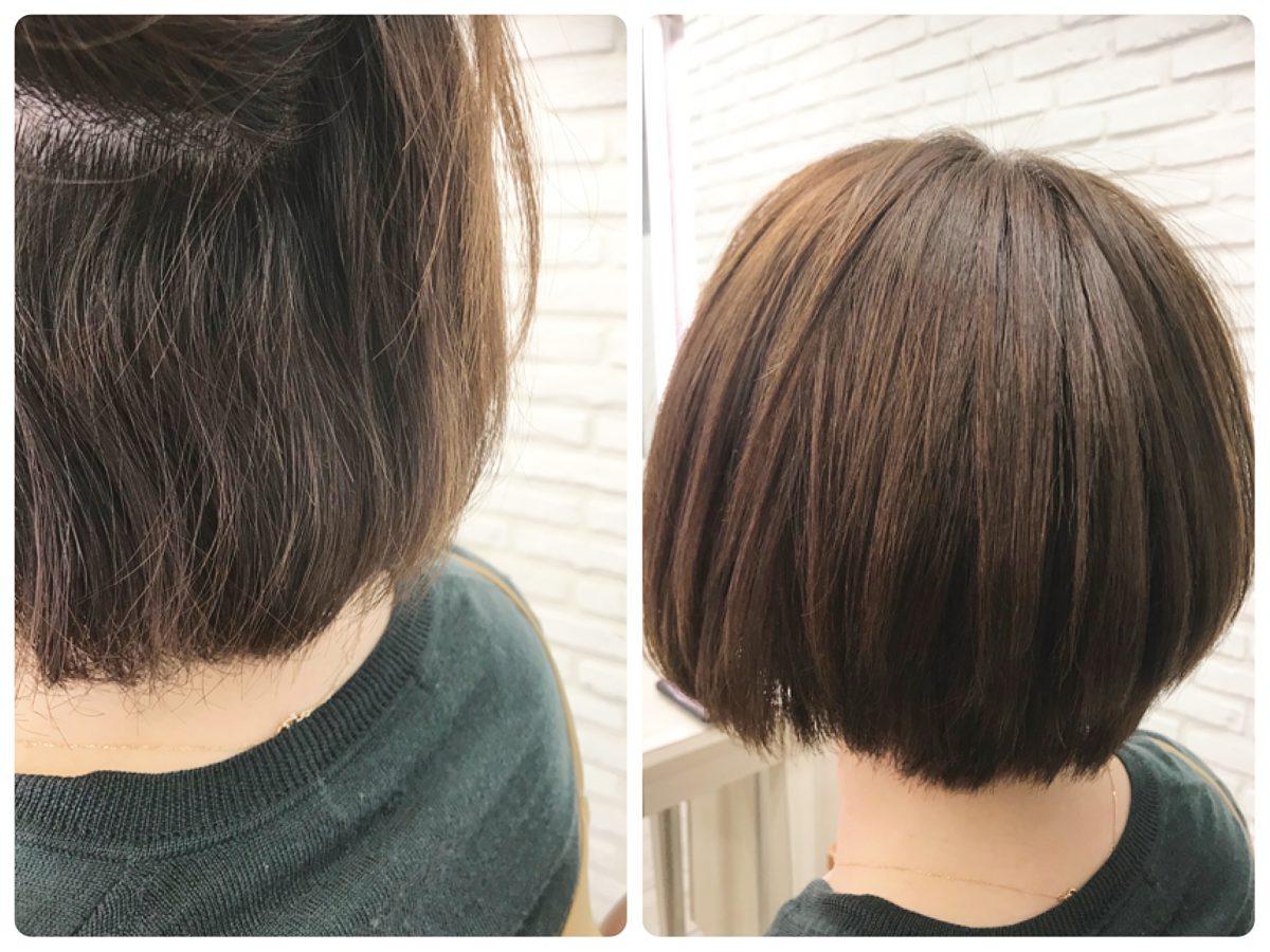 髪型にフィットさせる縮毛矯正・ストレート!