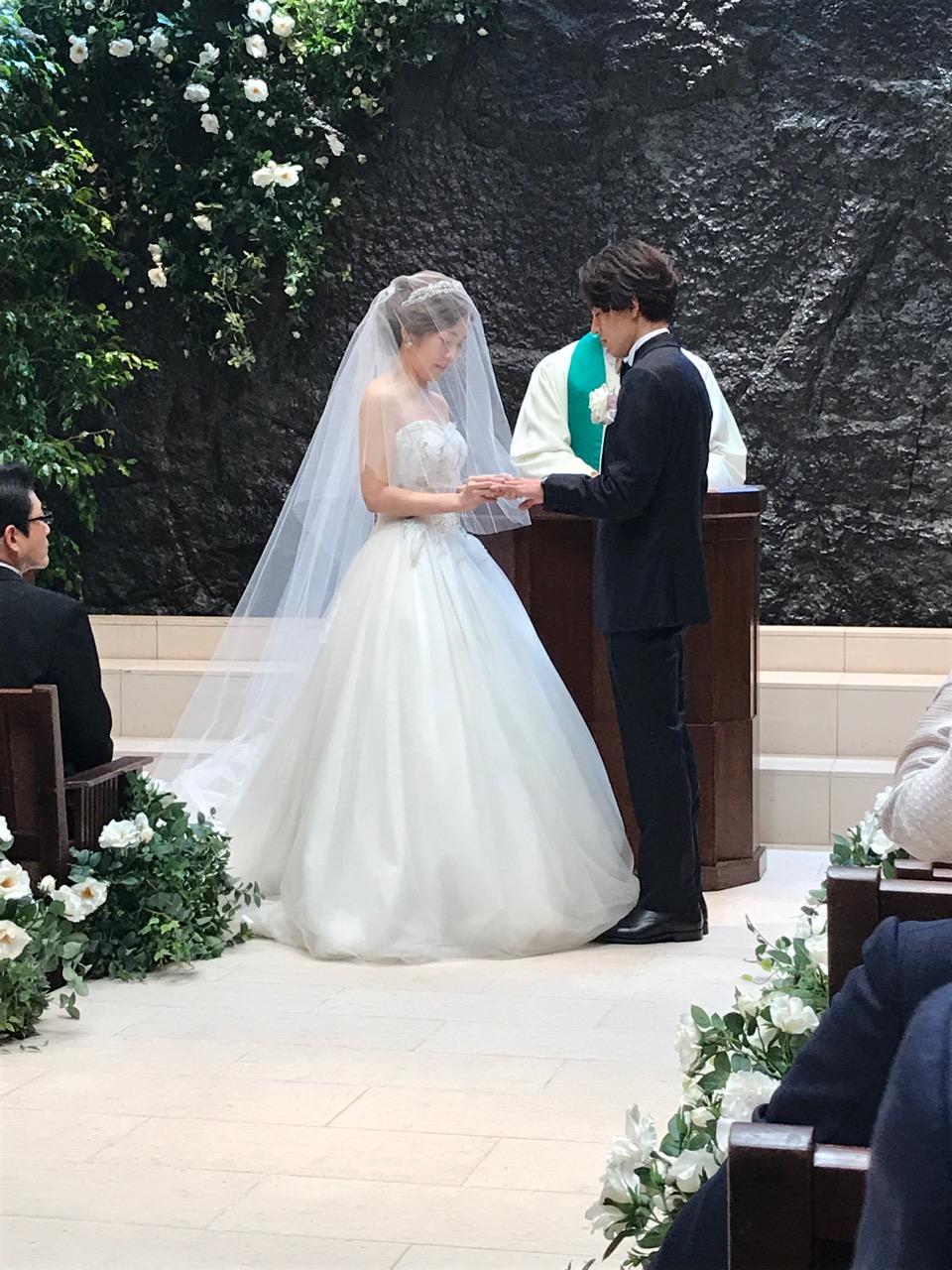 美容師の結婚式は初めて😊