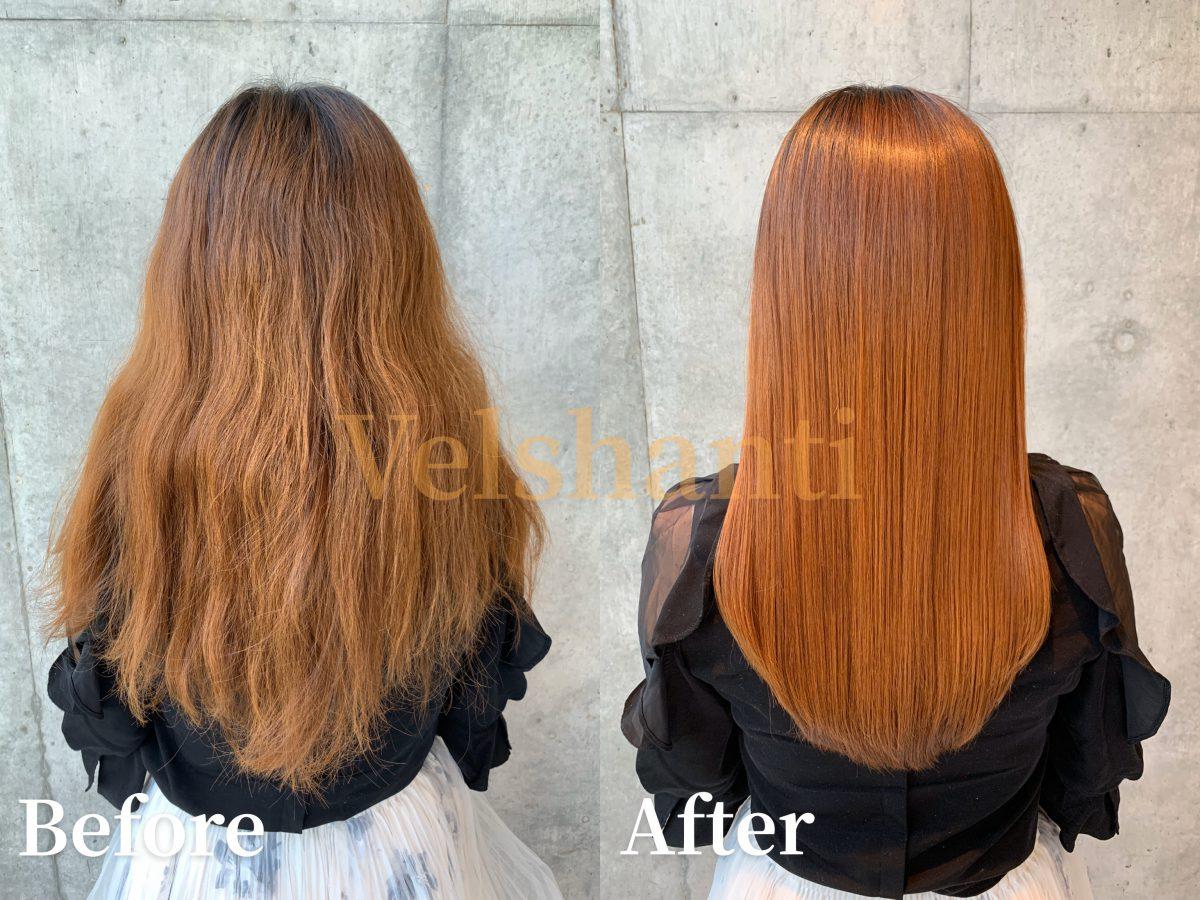 髪質改善【ご来店のお客様の状態】