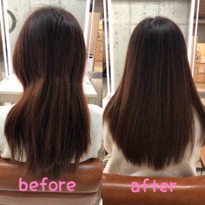 2019年は髪質改善の年 『本物の髪質改善』サイエンスアクアで艶髪を取り戻しましょう☆