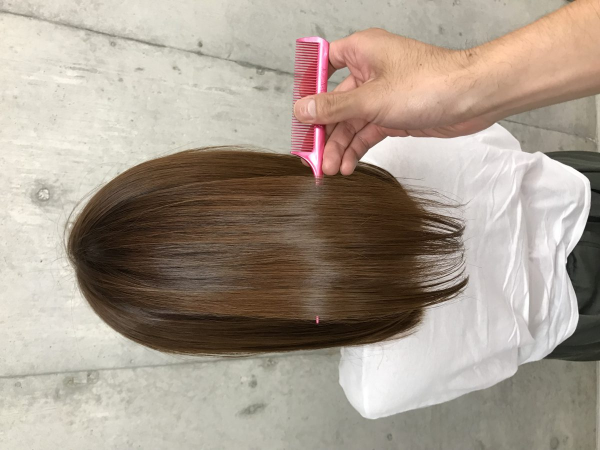 エイジング毛は髪質改善?それとも縮毛矯正?